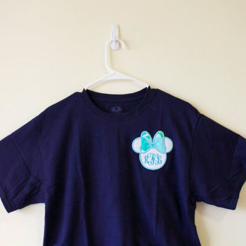 Minnie Mouse Lilly Pulitzer Monogrammed T-Shirt