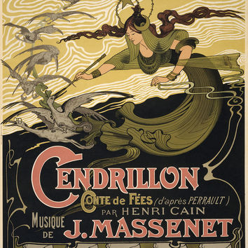 Cinderella Massenet Opera Cendrillon Fairy Godmother.