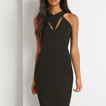 Cutout Bodycon Midi Dress