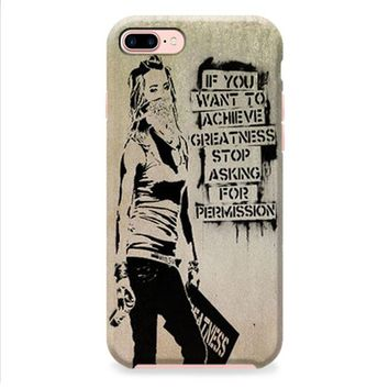 Banksy Art iPhone 8 | iPhone 8 Plus Case