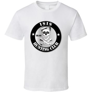 ISIS Hunting Club - Iraq T Shirt