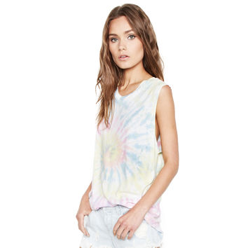 Bull Scoop Neck Muscle Tee by Michael Lauren