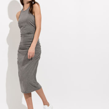 Sleeveless Ruched Dress | Smoke and Mirrors Dress | Kit and Ace