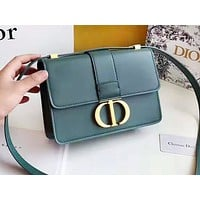 DIOR hot seller Shopping single-shoulder bag with fashionable ladies' monochromatic letter button #5