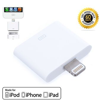 8Pin to 30Pin Adapter Converter Charger Data Sync For iPhone 4 to iPhone 5 6 7 8