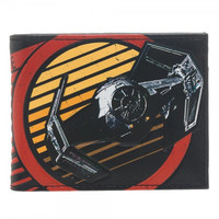 Star Wars Galactic Empire Red Bi-Fold Wallet