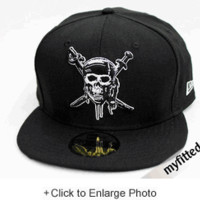 Pirates of the Caribbean: Cap'n Jack Sparrow Black New Era Hat