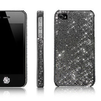 Lifetime Warranty Authentic Black Swarovski Element by Bling4U2011