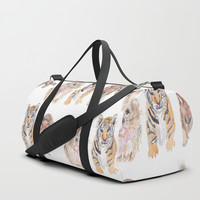 Cute animal pattern Duffle Bag by Knm Designs