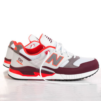 "New Balance 530 ""Running 90's Remix Collection"" - White/Burgundy/Orange"