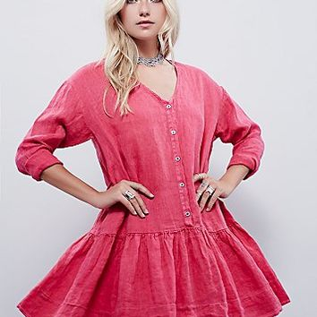 Free People Womens Devon Dress