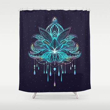 Mandala Shower Curtain by printapix