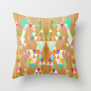 Things fall into place Throw Pillow by Sreetama Ray | Society6
