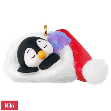Petite Penguins A Short Snooze Mini Ornament