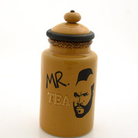 Mr T Tea Cannister Countertop Tea container for kitchen