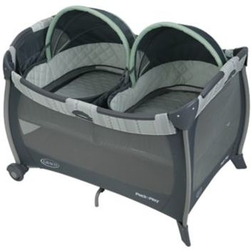 Pack 'n Play® Playard with Twins Bassinet   gracobaby.com