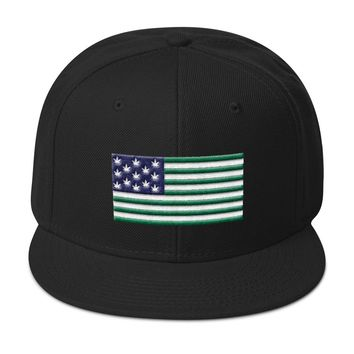 Original Kush Flag Snapback Hat