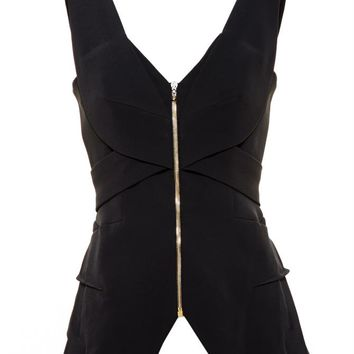 Stretch Crepe Top - ROLAND MOURET