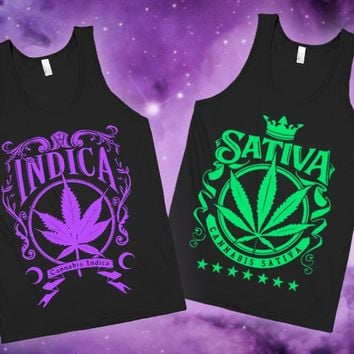 Indica and Sativa - Best Buds Tanks