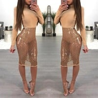 Francisca sequined dress