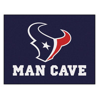 Houston Texans NFL Man Cave All-Star Floor Mat (34in x 45in)