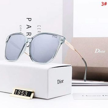 DIOR Fashion New Polarized Sun Protection Eyeglasses Glasses Women 3#