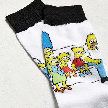 Simpsons Couch Sock - Urban Outfitters