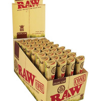 RAW King Organic Hemp Cones