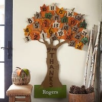Give Thanks Tree Countdown Calendar