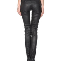 Jil sander navy Women - Leatherwear - Leather pants Jil sander navy on YOOX