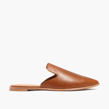 The Gemma Mule in Leather : shopmadewell mules | Madewell
