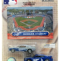 Los Angeles Dodgers 164 Dodge Charger  Ford Mustang 2pack