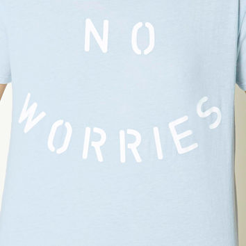 No Worries Graphic Tee