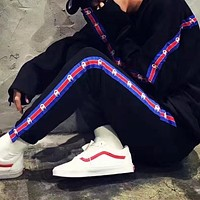 Champion Casual Pullover Hoodie Sweater Pants Trousers Set Two-Piece