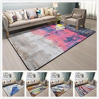 Abstract Art Rugs And Carpets For Home Living Room