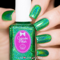 Cupcake Polish Leaf Me Alone Nail Polish (Berry Patch Collection)