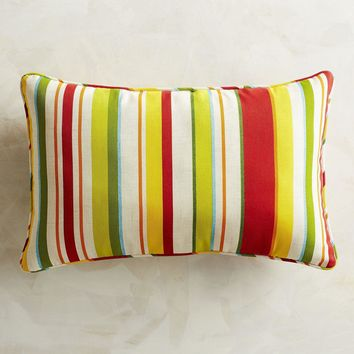 Sun Striped Indoor/Outdoor Throw Pillow