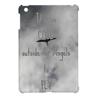 Angels to Fly Lyrics - Bird Flying iPad Mini Case from Zazzle.com