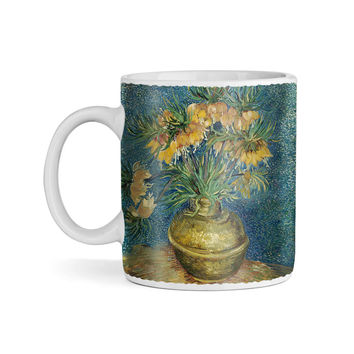 Van Gogh - Fritillaries in a Copper Vase 1887 11oz Coffee Mug