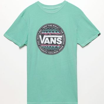 Vans Original Tribe T-Shirt - Mens Tee - Green