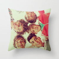 All of 1D Throw Pillow by sweaterhouse | Society6