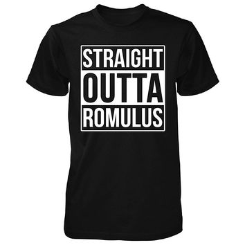 Straight Outta Romulus City. Cool Gift - Unisex Tshirt