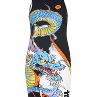 **IP X Ed Hardy Dragon Dress by Illustrated People