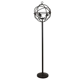 """70"""" Global Tall Floor Lamp By Crestview Collection Sku Cvaer982"""