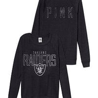 Oakland Raiders Boyfriend Crew - PINK - Victoria's Secret