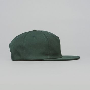 Norse Projects Poly Wool Trucker Cap (Racing Green) | Oi Polloi