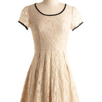 At Your Own Lace Dress | Mod Retro Vintage Printed Dresses | ModCloth.com