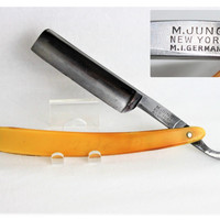 1920 M. Jung New York, M.I. Germany #80 Straight Razor