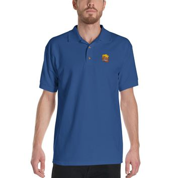 Trump Troll Embroidered Polo Shirt