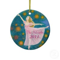 The Nutcracker Ballet (Clara) Ornament from Zazzle.com
